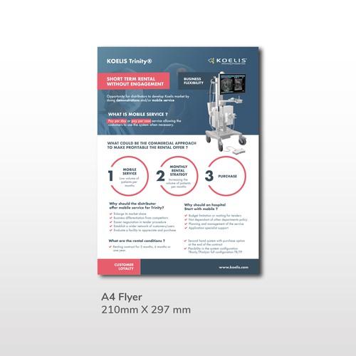 BtoB Medical 1 Page Flyer
