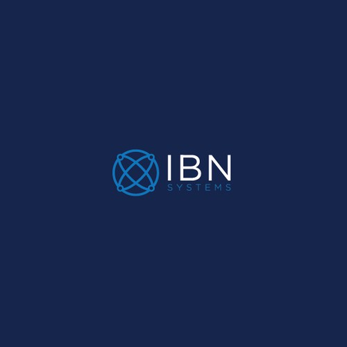 Modern and Sophisticated logo for IBN Systems