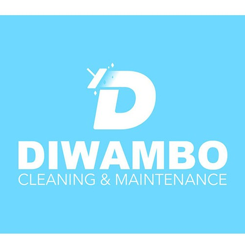 Logo for a cleaning campany