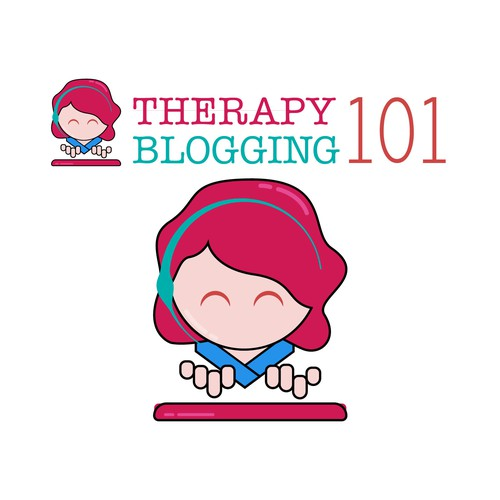 logo concept for Therapy Blogging 101