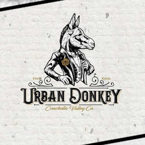 Logo for Urban Donkey