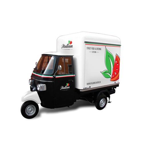 Italian Flavors food truck layout
