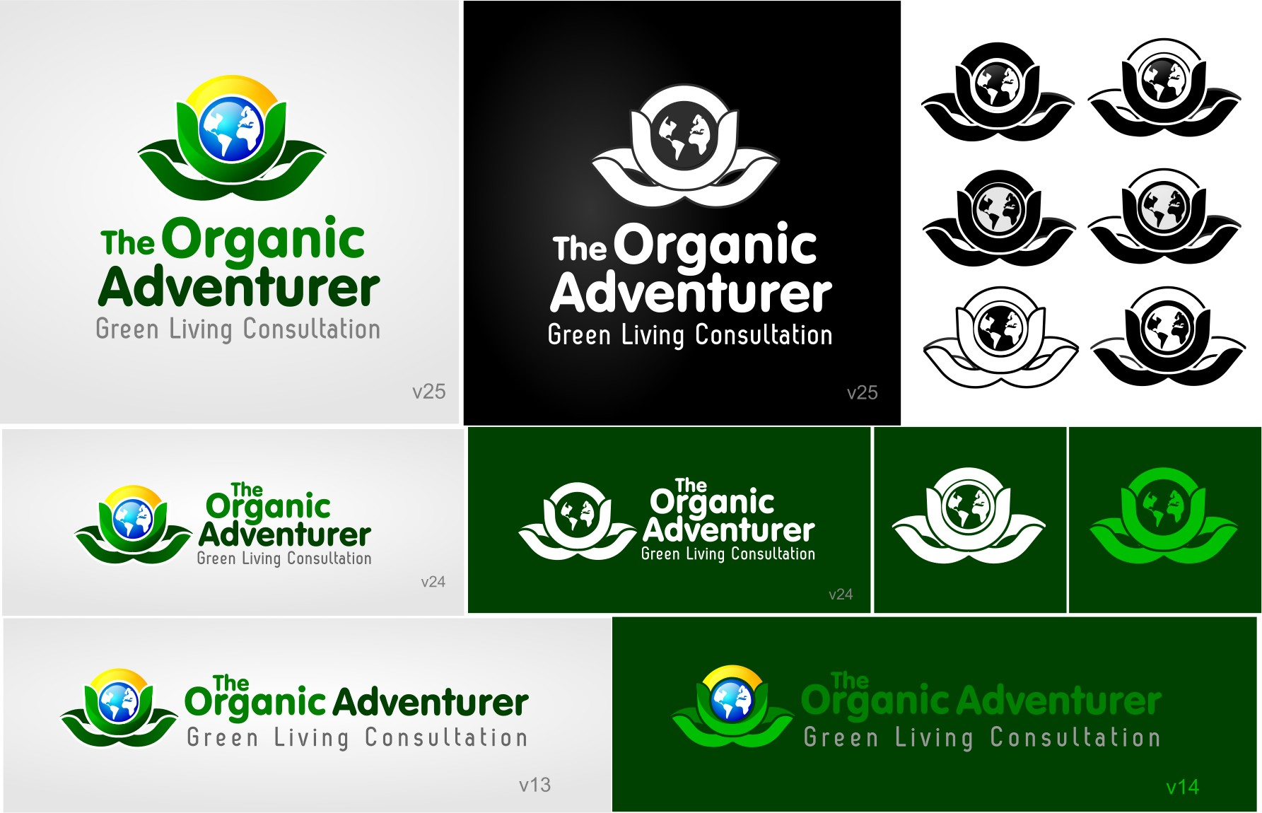 New logo wanted for The Organic Adventurer: Green Living Consultation