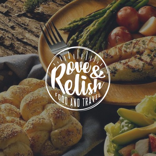 Classy logo concept for Rove and Relish
