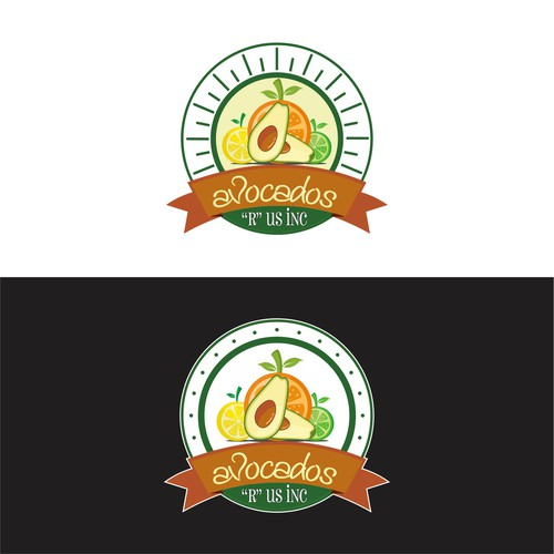 logo design for distributor of avocado, lemon, lime and orange