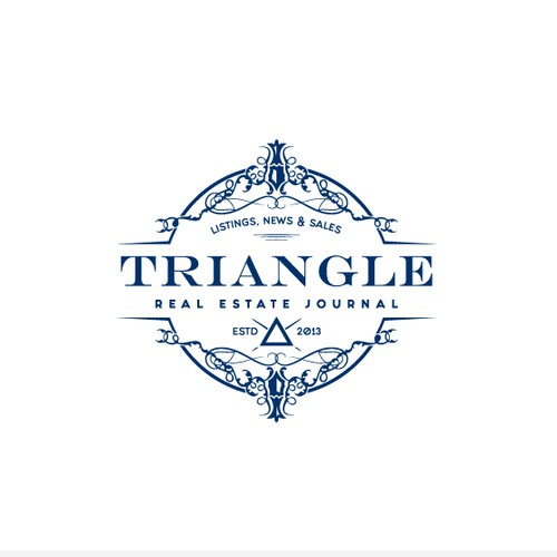 Luxury logo done for TRIANGLE