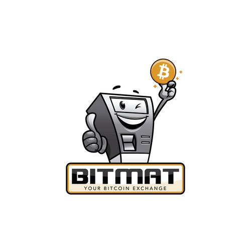 Bitmat.at logo design
