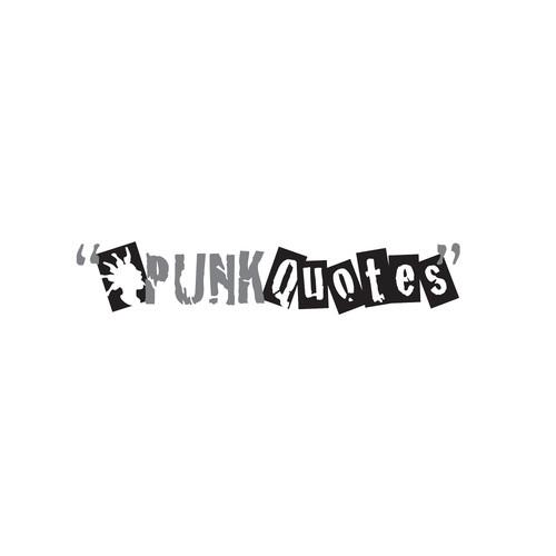 grunge punk logo
