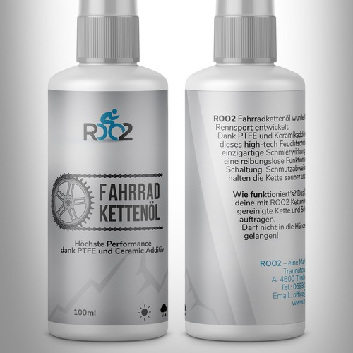 ROO2 Bicycle Oil