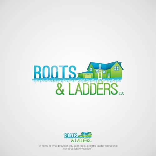 Roots and Ladders real estate logo