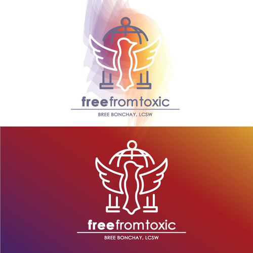 Colourful logo for Free From Toxic