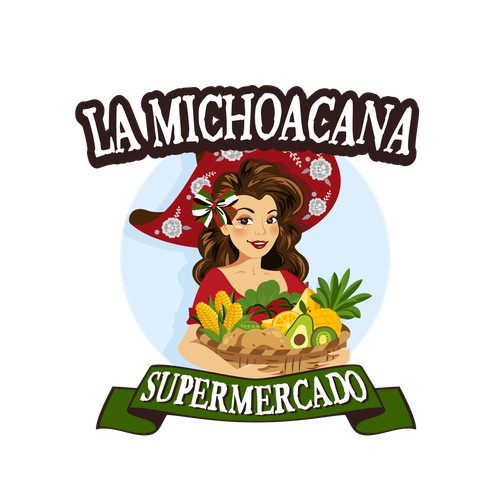 Logo for a Market Store