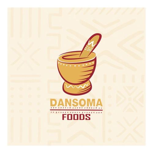Logo for a food company