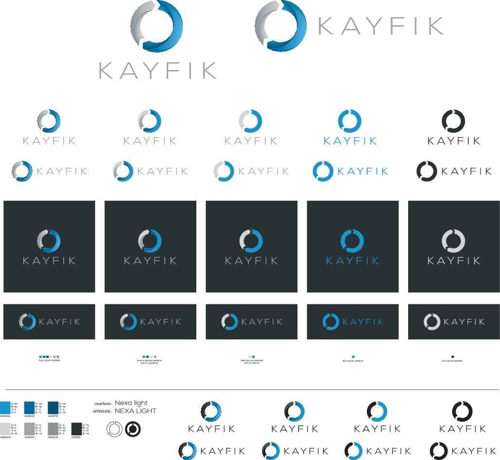 "Design an intuitive logo for Kayfik @ www.kayfik.com | Kayfik = ""It's up to you"" in Arabic"