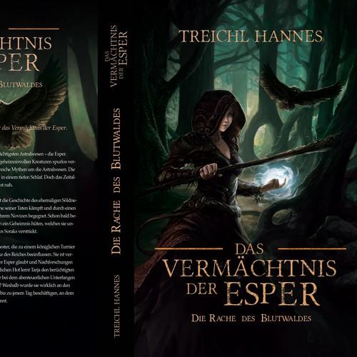 Fantasy book cover