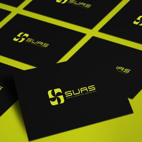 A modern logo design for Aerial Surveying Specialists company - SUAS