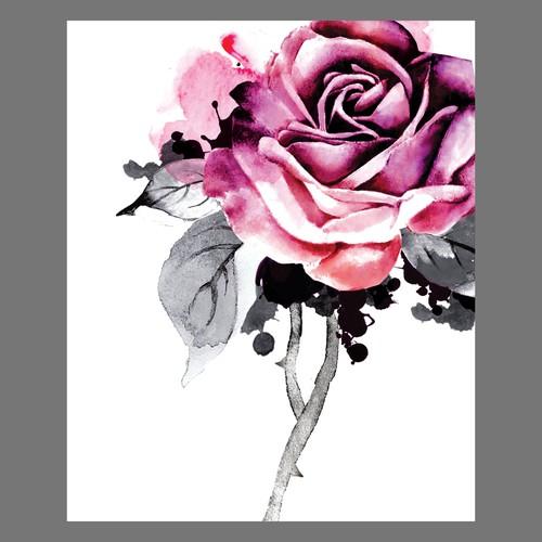 rose illustration