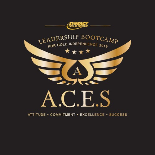 Logo design for a leadership bootcamp