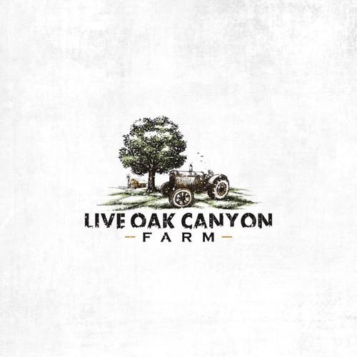 Live Oak Canyon Farm Logo
