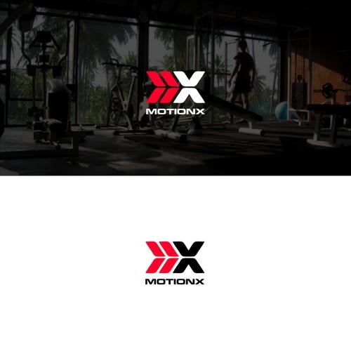 motion x fitness logo