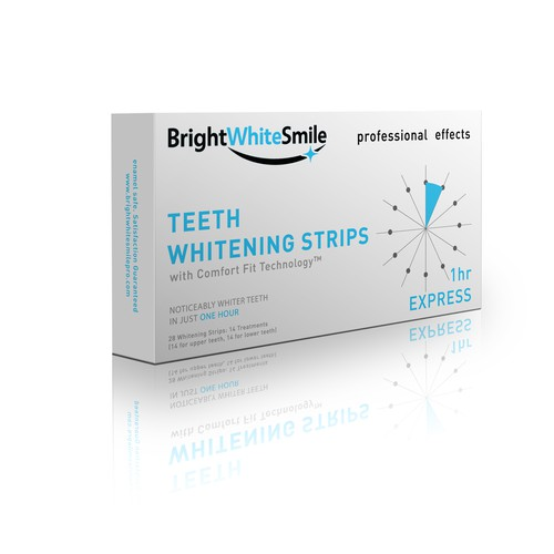 Clean design for Teeth whitening strips