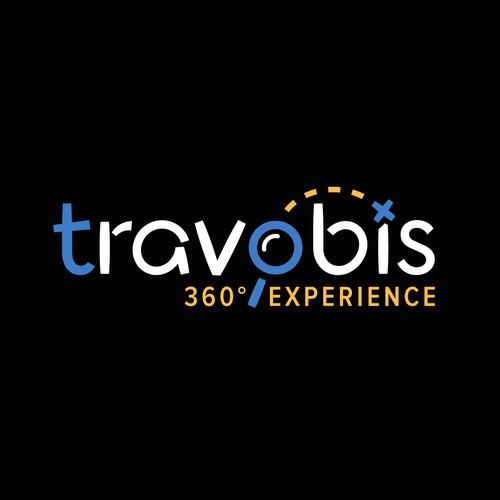 Travel Logo Design with Custom Typeface