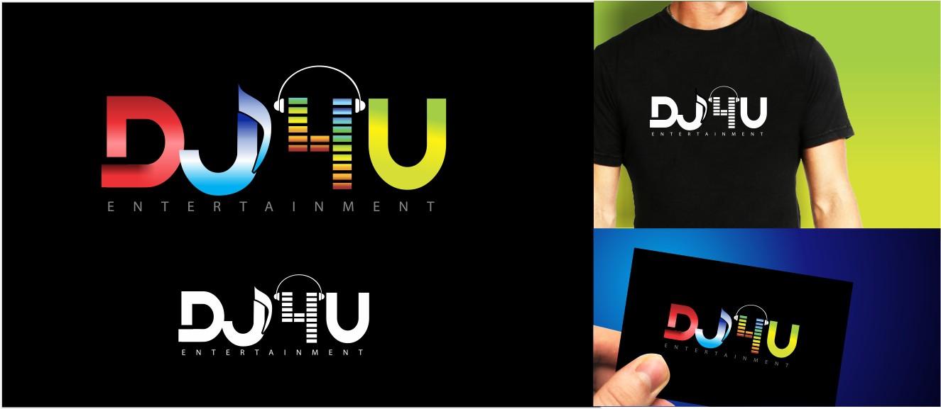 Create the next logo for DJ4U