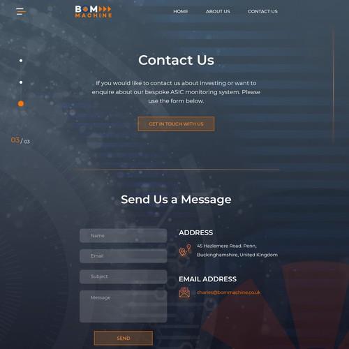 BOM Machine: Contact Us