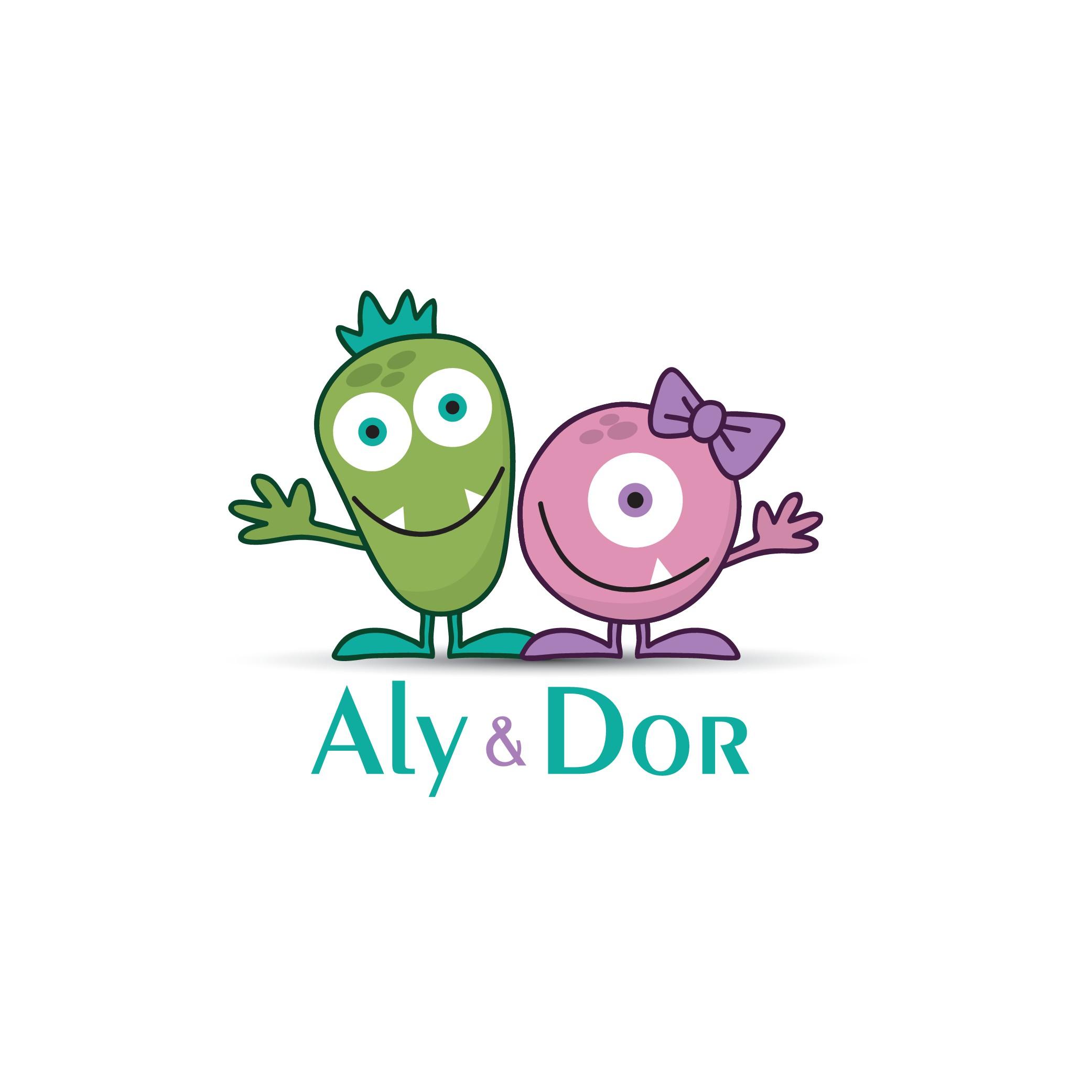 Design a trendy, funny logo for Aly & Dor toys