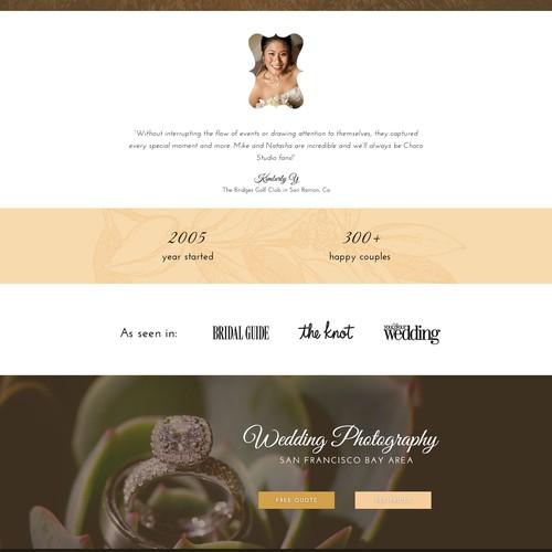 Wedding photography site