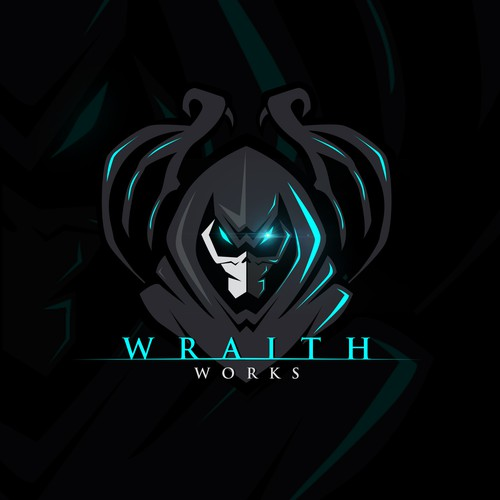 Scary Logo for new and innovative firearm brand Wraith Works