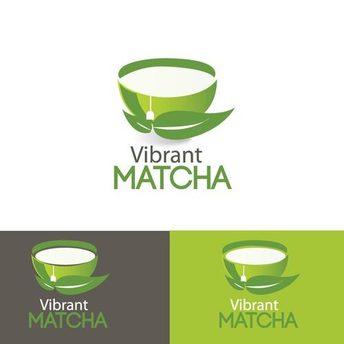 Logo for Vibrant Matcha Tea