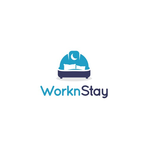 Logo for WorknStay