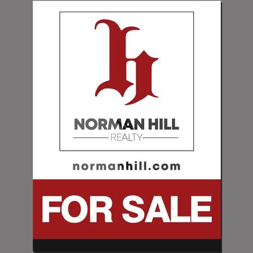 SALE Sign for Real Estate