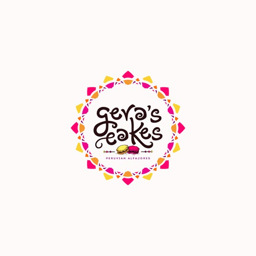 "Logo design for ""Gera's Cakes."""