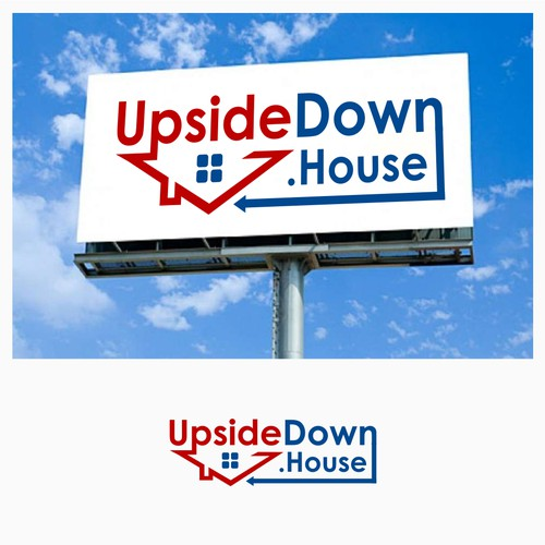 Logo Concept For UpsideDown.House