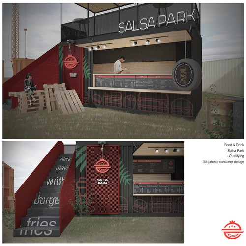 Container Design for SALSAPARK