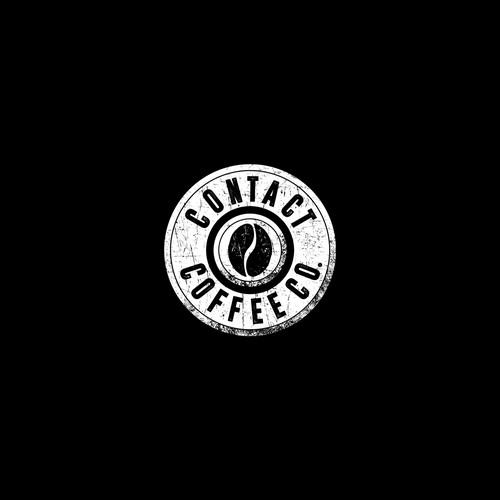 Logo design for Contact Coffee Co.