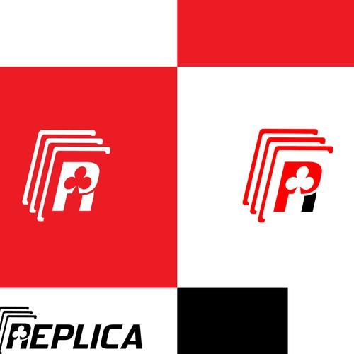 Logo concept for a poker app