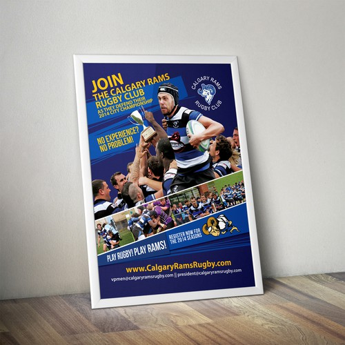 Rugby club promotion