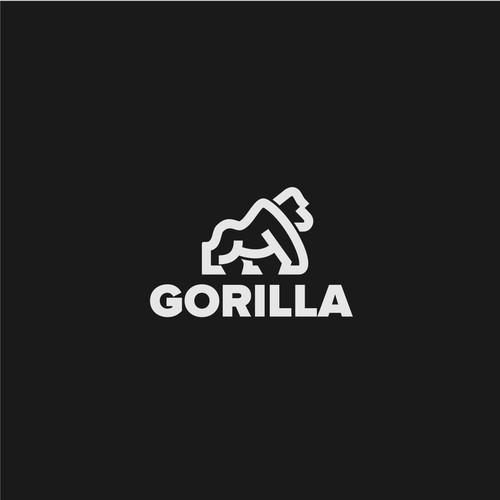 Gorilla Brand Logo Design