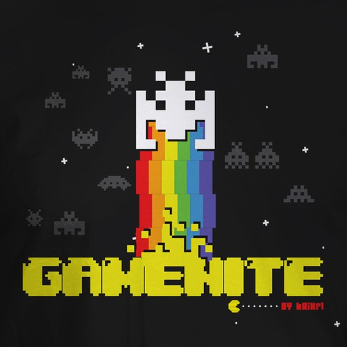 GAMENITE t-shirt