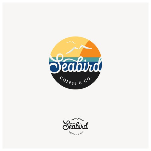 Logo for Seabird Coffee & Co.