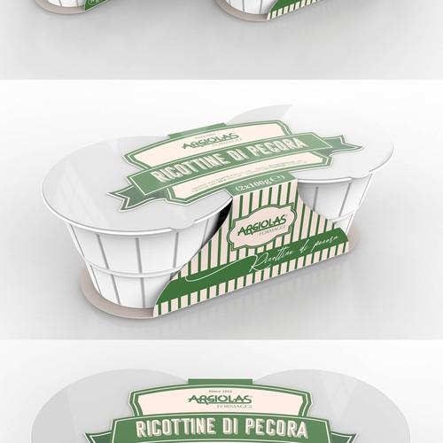 Packaging Design for Ricotta Sleeve