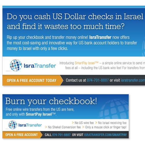 business or advertising for IsraTransfer