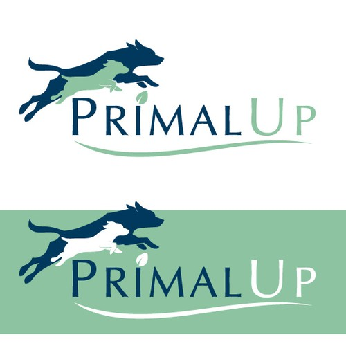 Logo for a pet food and supplement company