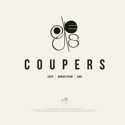 Coupers logo design