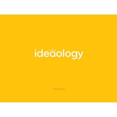 Logo design for ideaology.