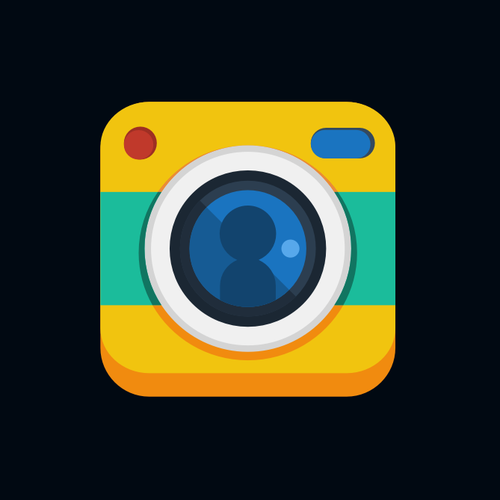 Awesome app icon for Selfie Challenge, a scavenger hunt for Selfies