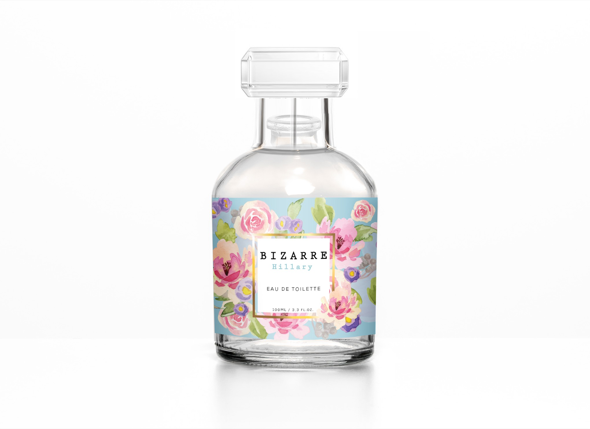 Design Eye catching Female Parfume No Limitations.